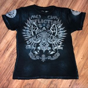 Affliction Live Fast Double-Sided Graphic T-Shirt